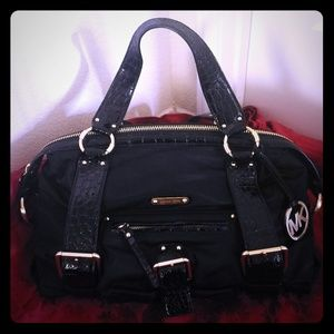 Michael Kors Black Tote Bag
